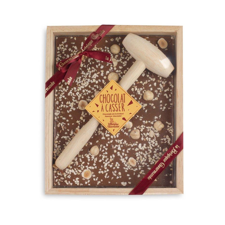 Chocolat à Casser - Lait Noisette du Piémont