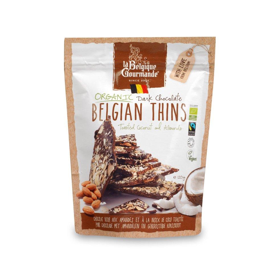 Dark Chocolate - Almond Flakes & Coconut Flakes