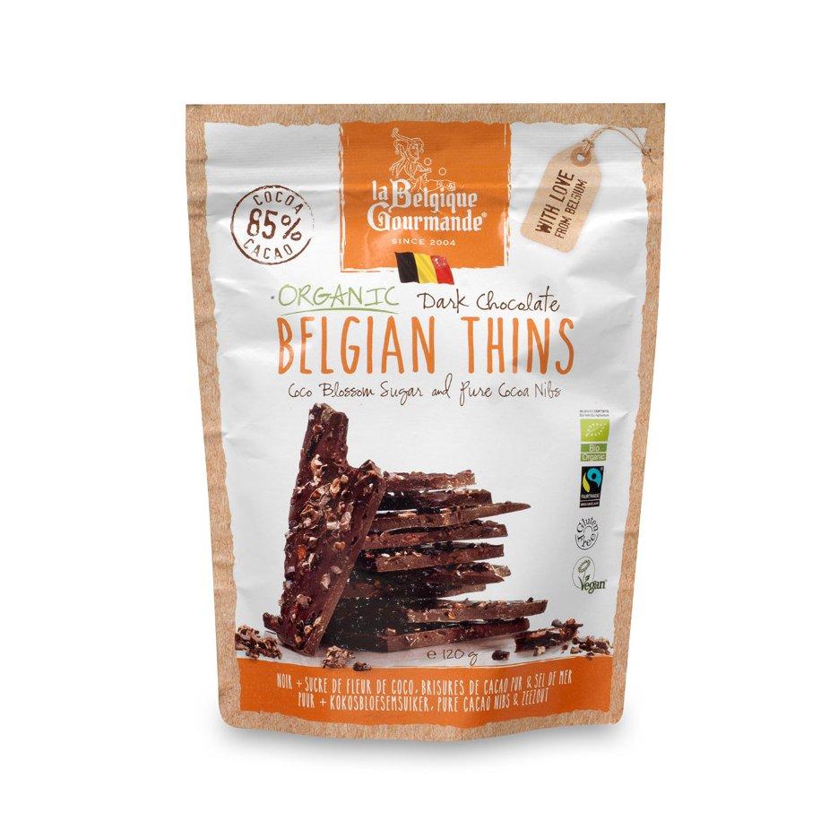 Pure Chocolade - Kokosbloesemsuiker, Pure Cacao Nibs & Zeezout