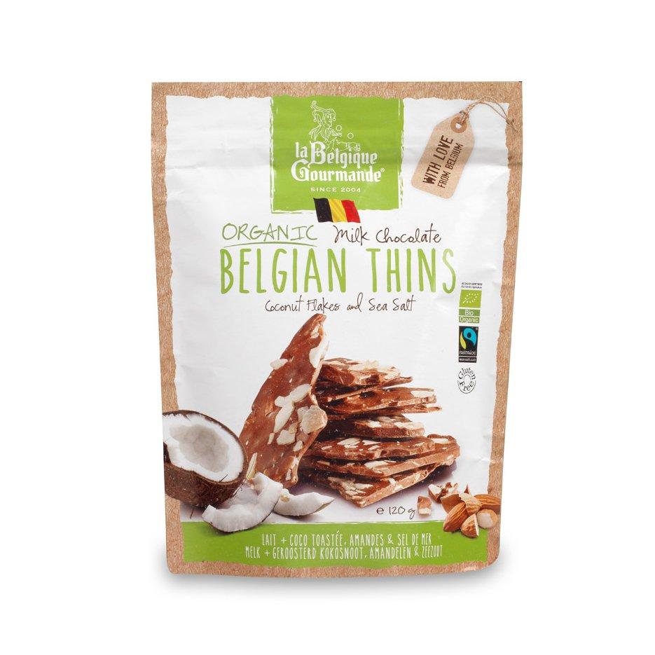 Milk Chocolate - Coconut Flakes, Almonds & Sea Salt