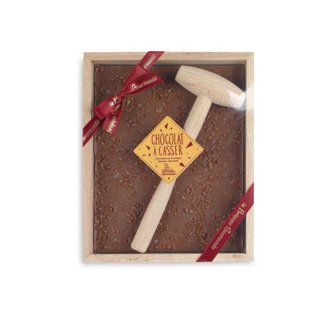 Chocolat à Casser - Lait Eclats de Caramel au Beurre Salé