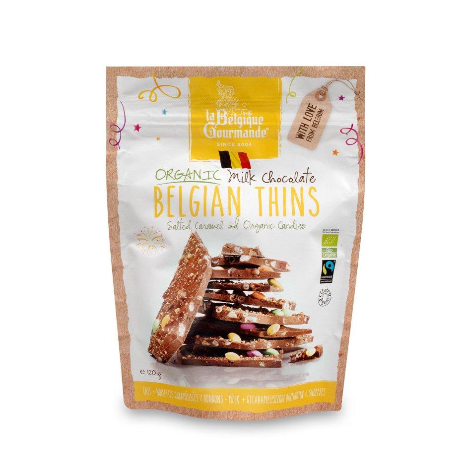 Chocolat au Lait - Noisettes Caramélisées Salés, Bonbons