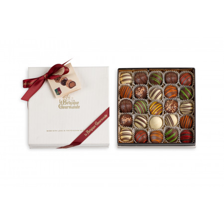 Deluxe Box with Belgian Chocolate Truffles