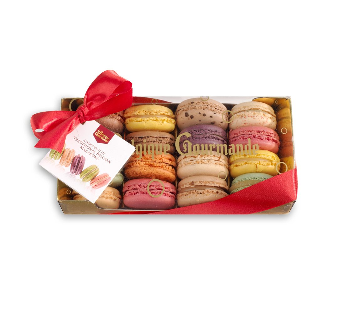 Luxurious Box with Macaroons