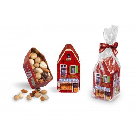 Maisonnette remplie d'Amandes en Chocolat
