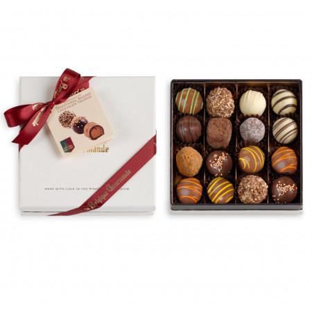 Box with Belgian Chocolate Truffles